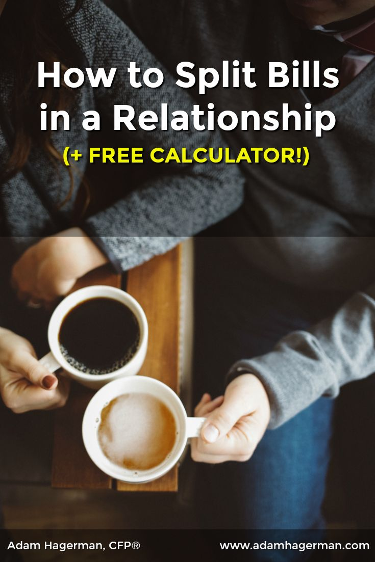 sharing expenses in a relationship free calculator create a