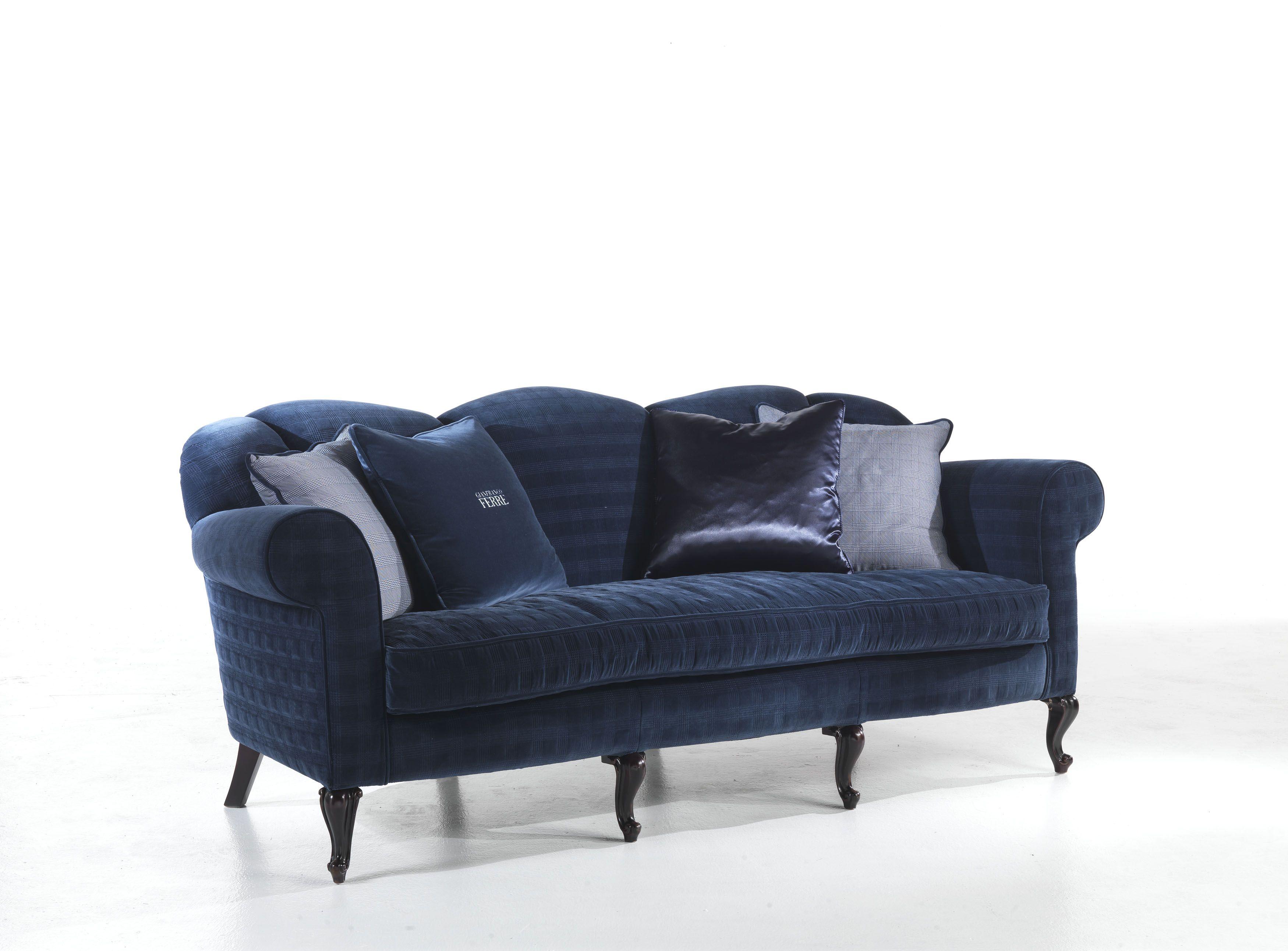 Gianfranco Ferré Home - Blue Sofa