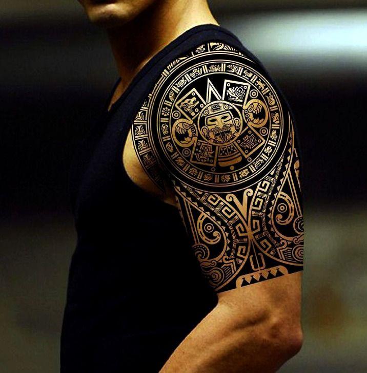 I Quieres Alucinar Con Los Mejores Tatuajes Mayas Y Aztecas