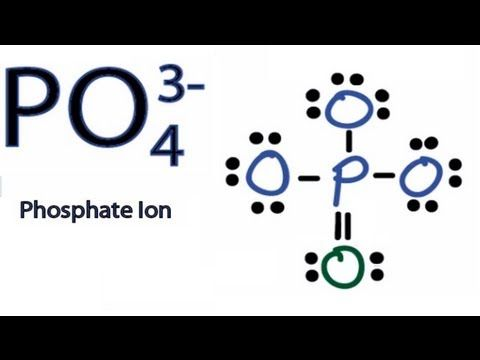 PO4 3- Lewis Structure How to Draw the Lewis Structure for PO43