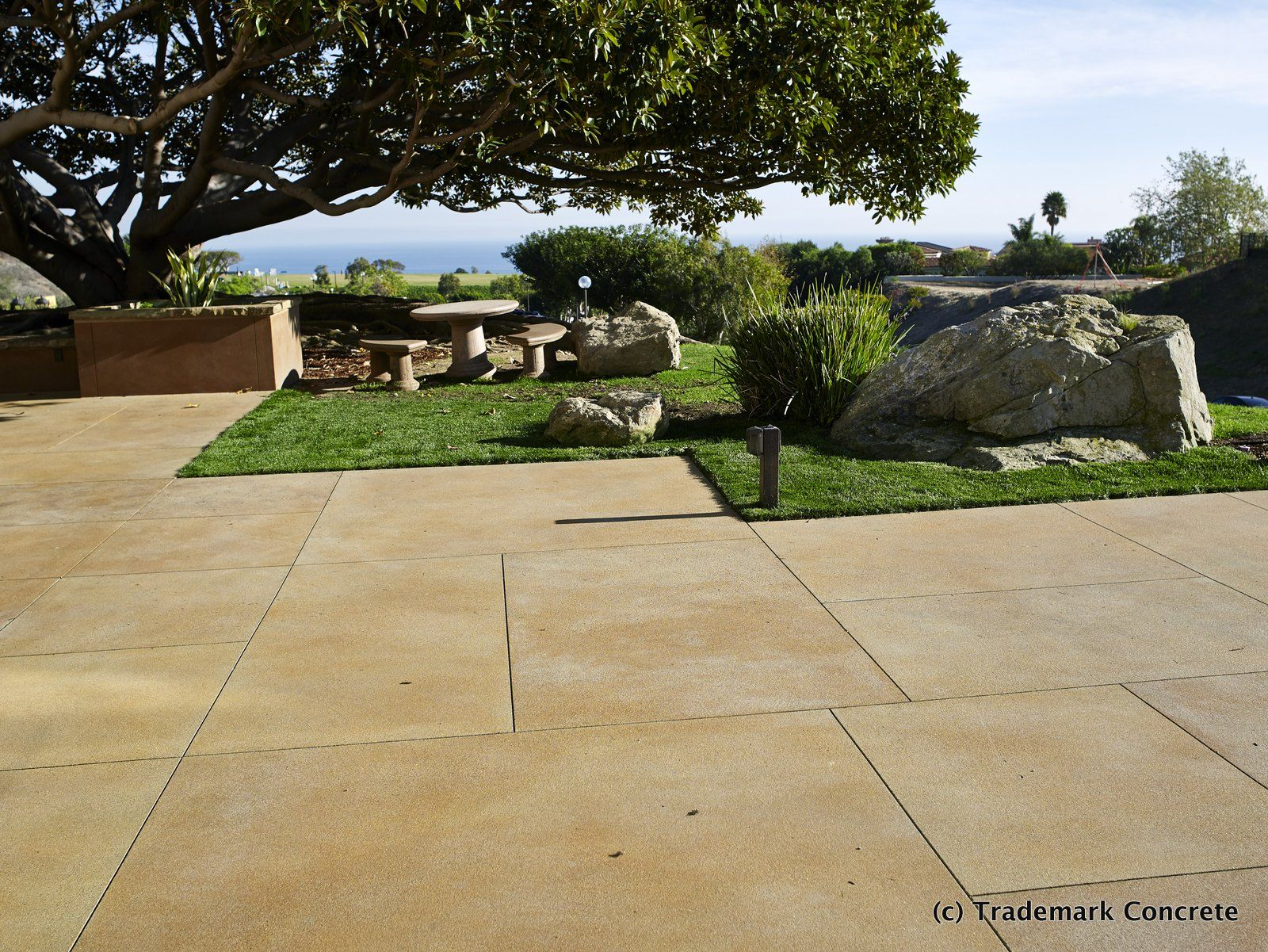 Decorative concrete installed by DCC member Trademark Concrete ...