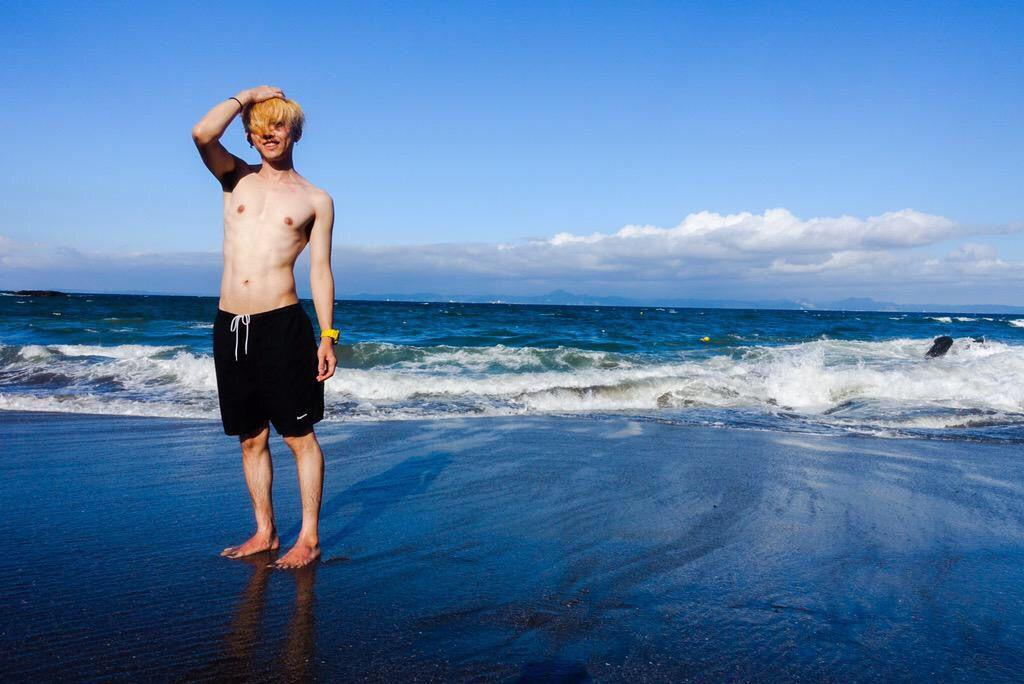 @boc_chama: 海行ってきました楽しかった おやすみなさいませ© http://t.co/On1Yw0t2G3