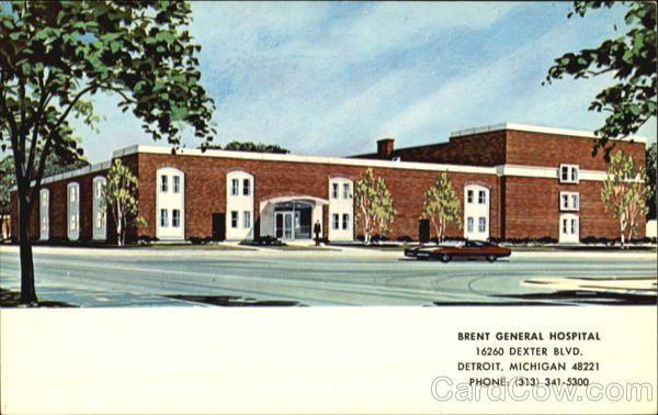 Brent General Hospital, 16260 Dexter Blvd | Detroit | General