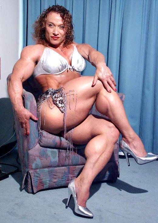 Big tit muscle women