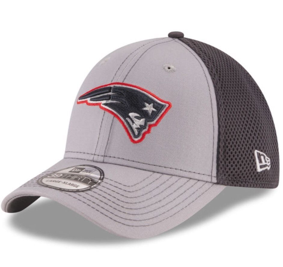 best sneakers 3b297 97b2d New England Patriots New Era 39Thirty Grayed Out Neo 2 L XL Fitted Cap Hat   NewEra  NewEnglandPatriots