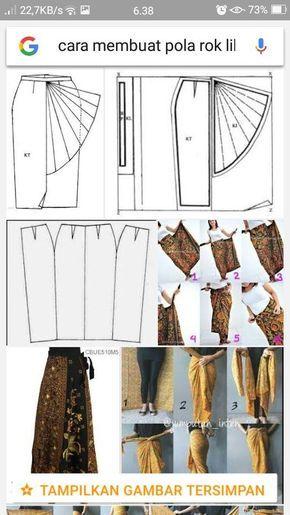 Cara Membuat Pola Batik : membuat, batik, Berikut, Gambar, Membuat, Lilit, Keren,, Busana, Menjadi, Diantara, Banyak, Diburu, Berbagai, Pembuatan, Pola,