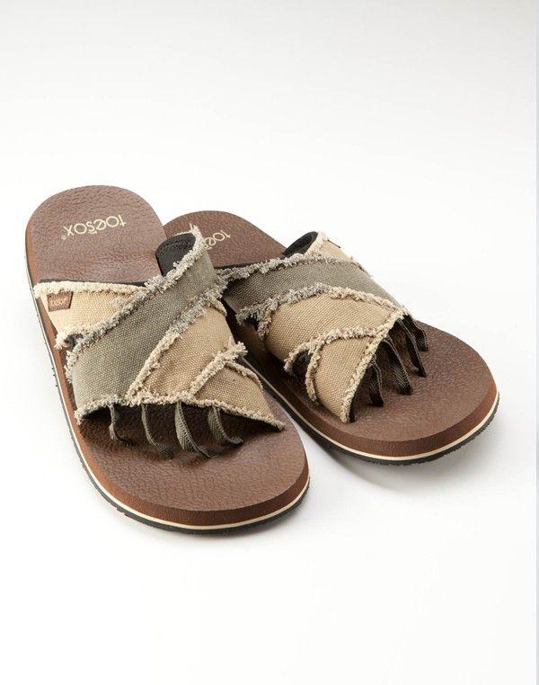 b081f1752838 Bohemian Mens Five Toe Sandals