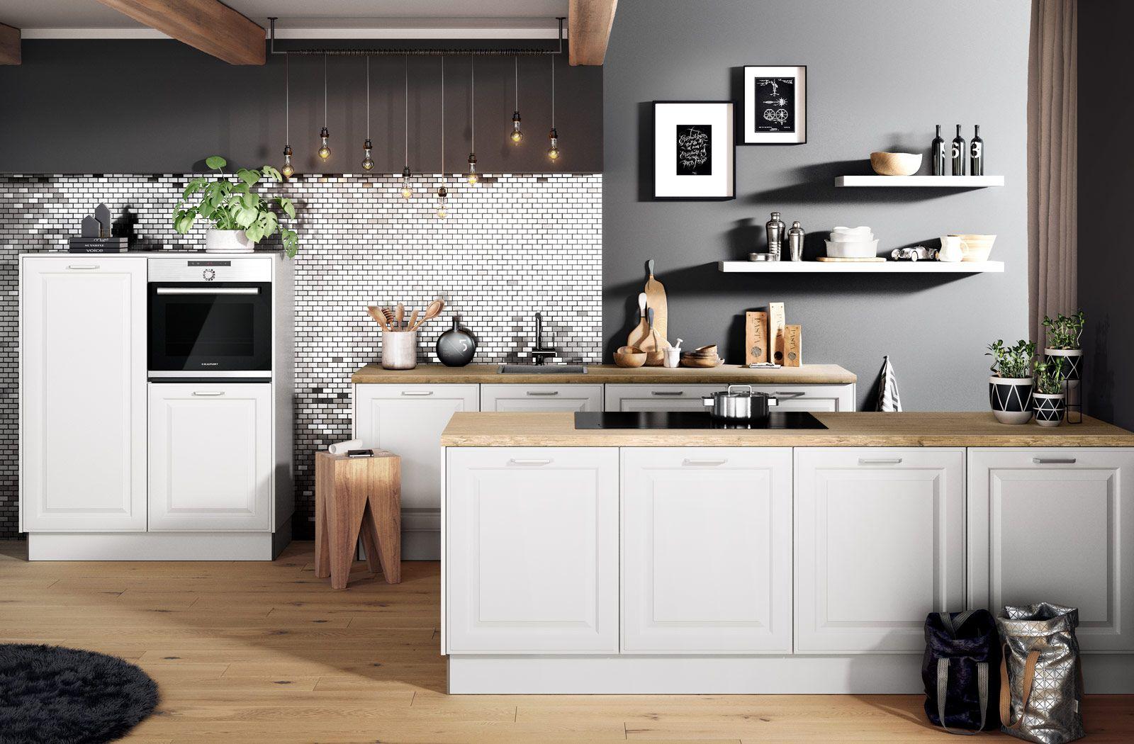 Inhaus Kitchen Brenda Kitchen Kitchendesign Kitchenmodel Kitchenideas Furniture Hacker Kuchen Haus Kuchen Und Kuche Landhaus Modern