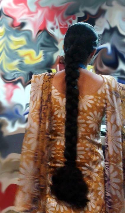 my girl | Braids for long hair, Indian long hair braid, Long thick hair