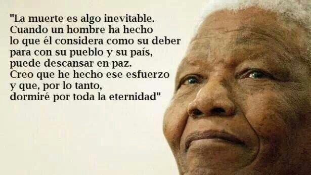 Por Siempre Mandela Nelson Mandela Mandela Quotes