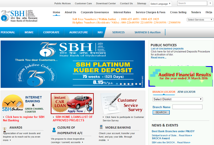 State Bank Of Hyderabad Home Loan  Loans    Home