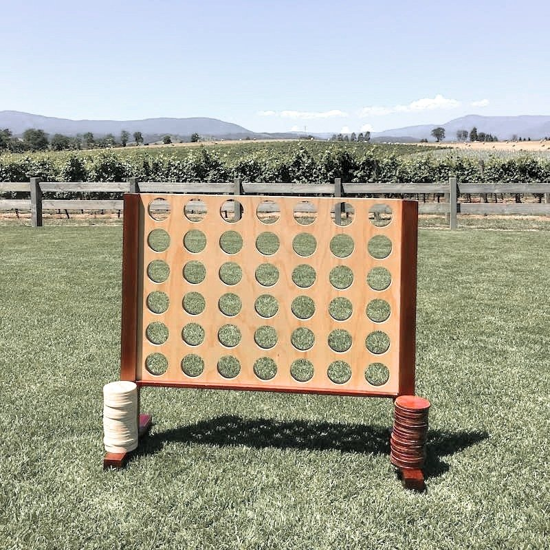 Giant Connect 4 Hire Handcrafted Lawn Games In 2020 Giant Lawn Games Lawn Games Giants