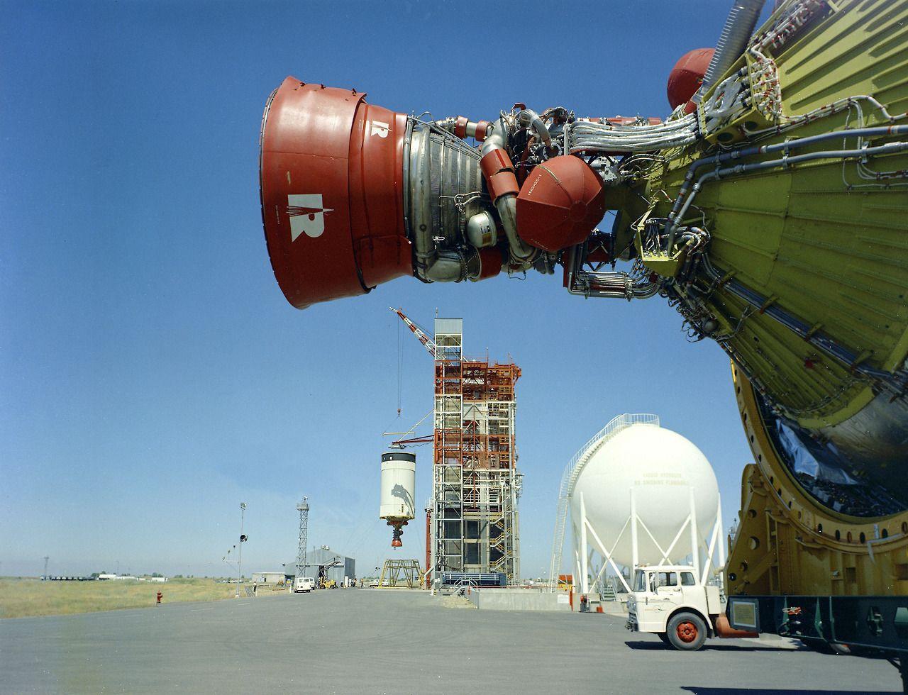 Saturn V third stage rocket