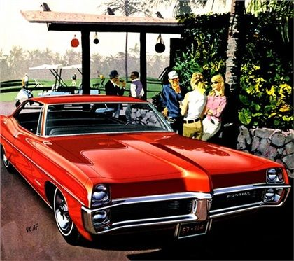 Kona Foursome 1967 Pontiac Catalina 4 Door Hardtop Automobile Advertising Pontiac Catalina Pontiac
