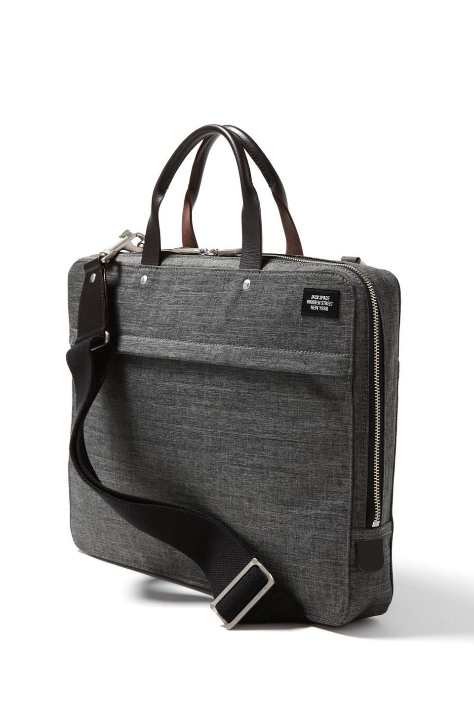 d199bd8f37 Jack Spade  Tech Oxford  Slim Laptop Briefcase for  299   Wantering ...