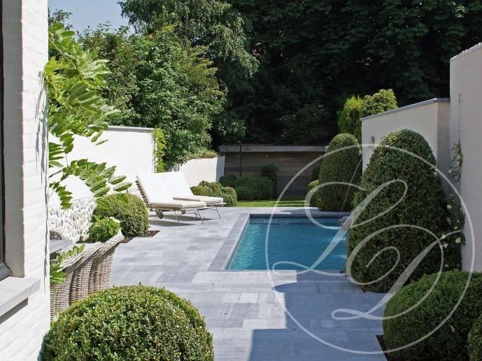Maximize the space in a city garden: design by Ludo Dierckx
