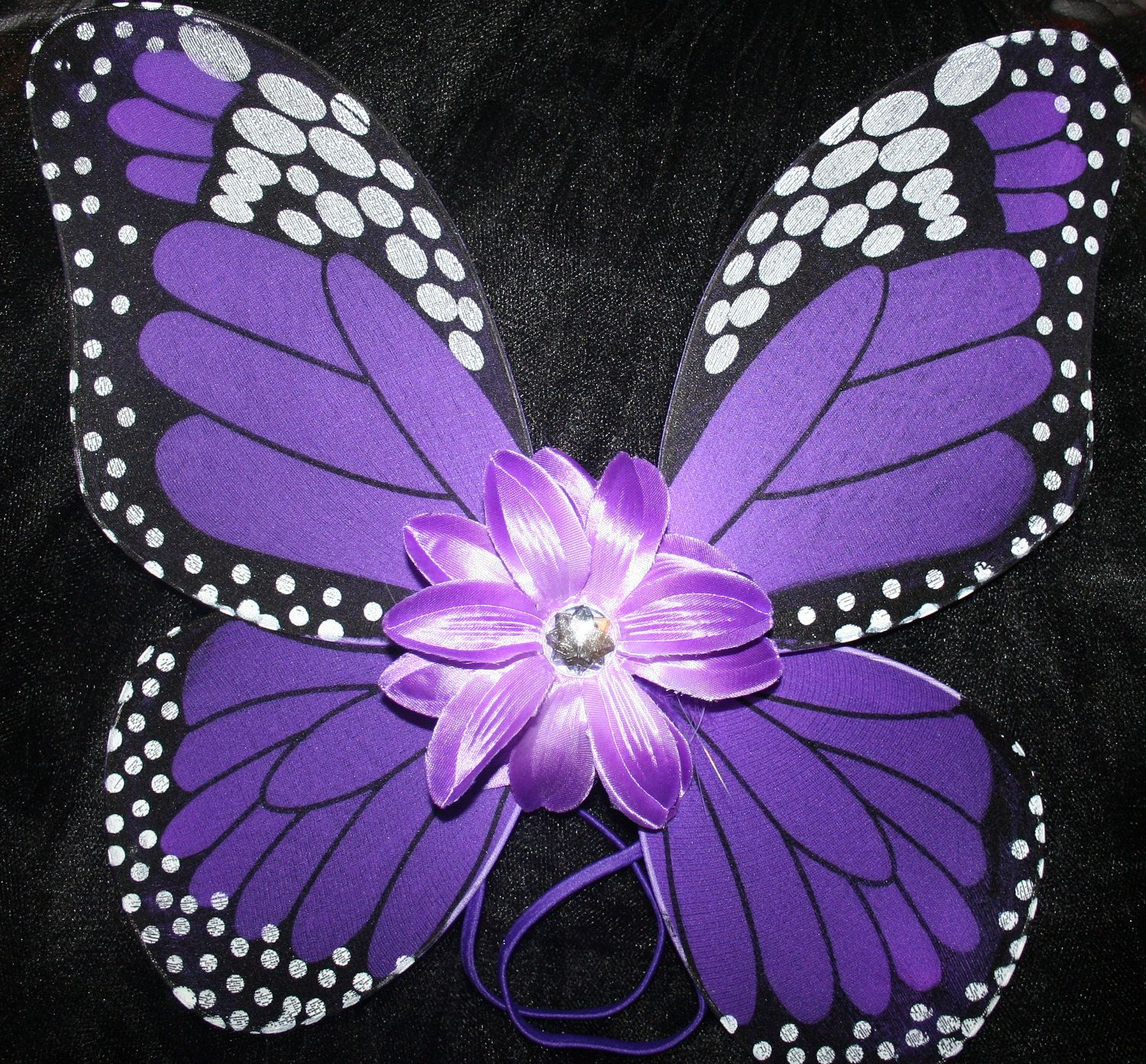 Purple Monarch Butterfly Wings - Dress Up or Birthday Party Favor ...