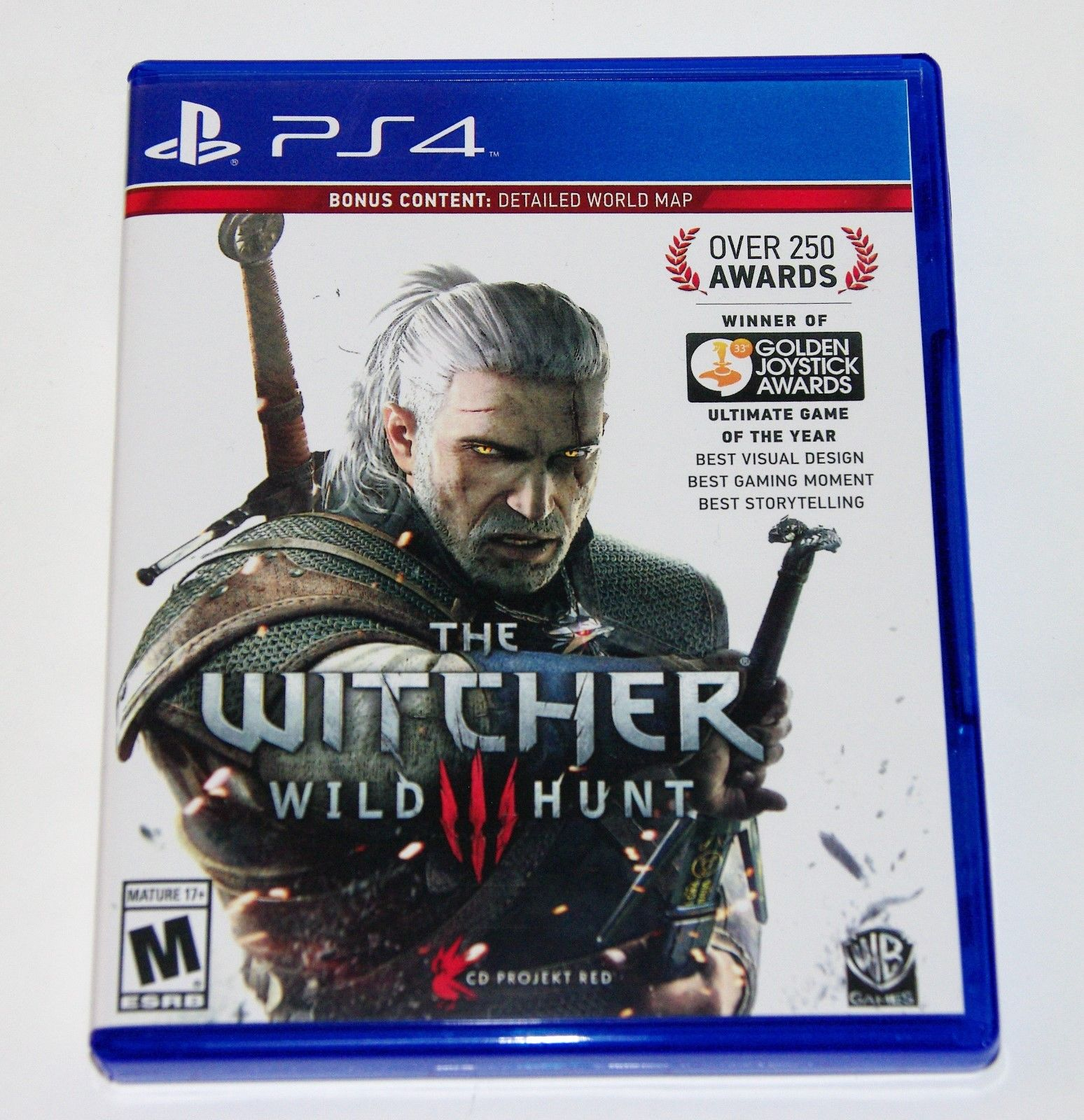 Replacement Case No Game The Witcher 3 Wild Hunt Playstation 4 Ps4 Xbox One Mx Gp 2 Cover English 749 Box Ebay Electronics