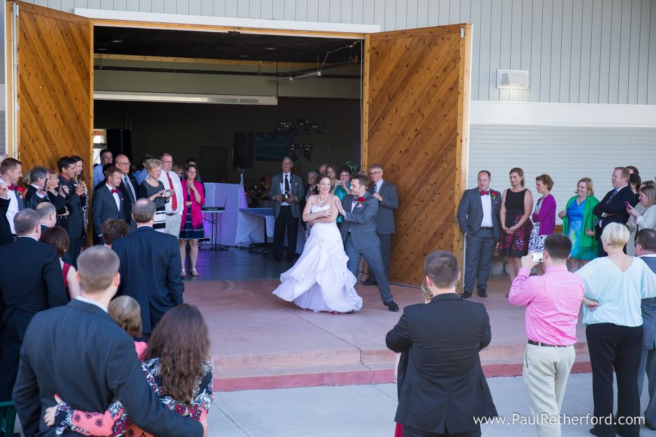 First Dance Petoskey Wedding Photo