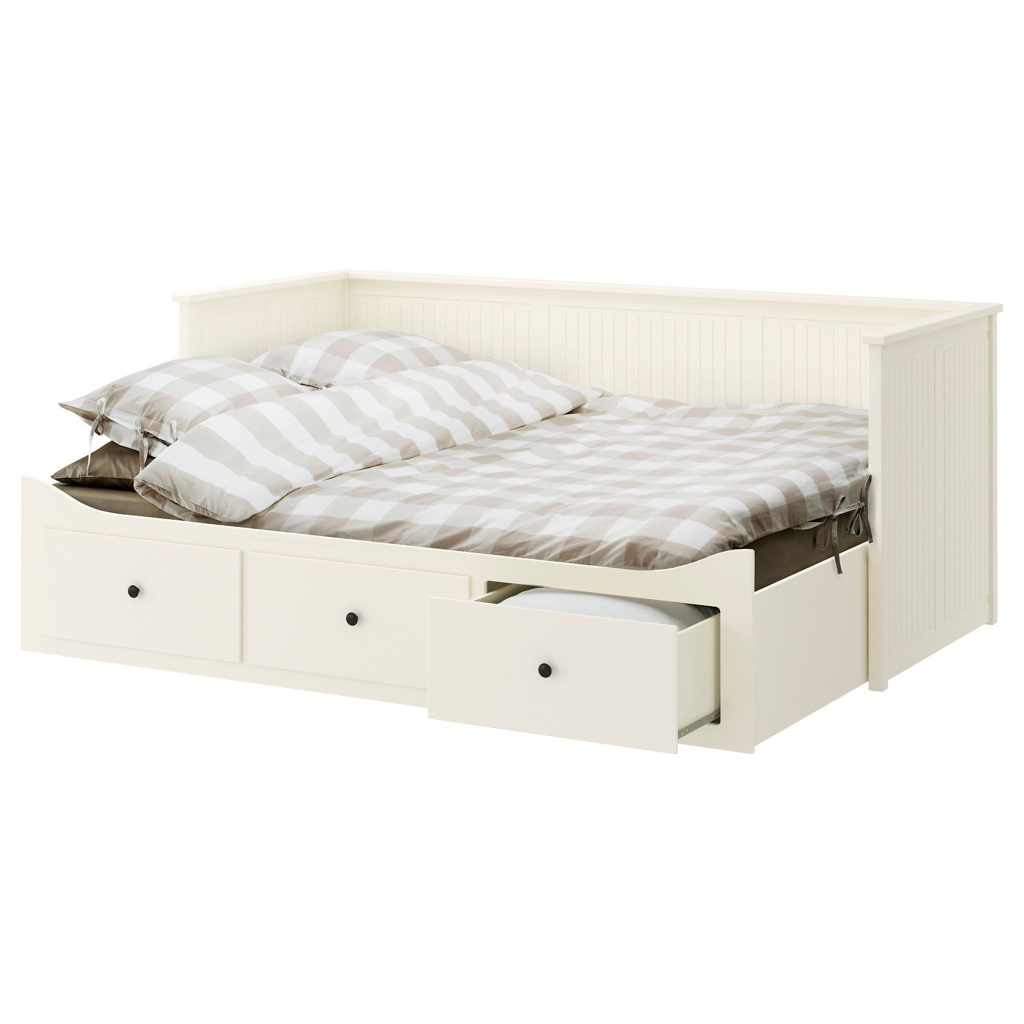 king with grey brown hemnes box nturl ikea drawers white wrm daybed spring review nd drawer bed hrdwering frame