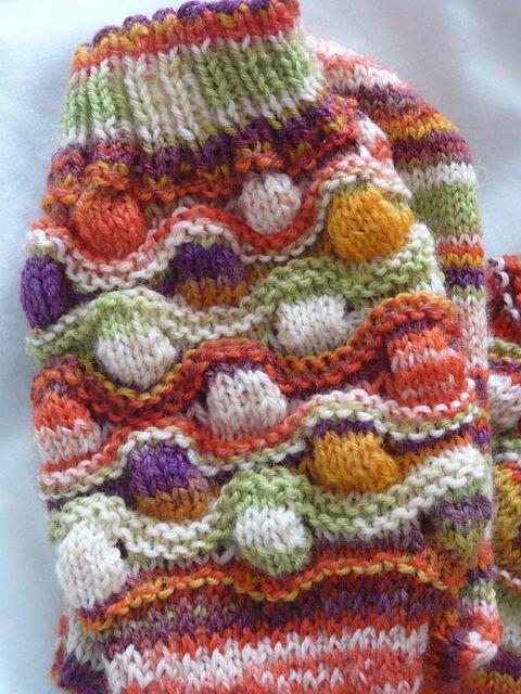 Bremen Bobble Socks pattern. | Strick- und Häkelmuster | Pinterest ...