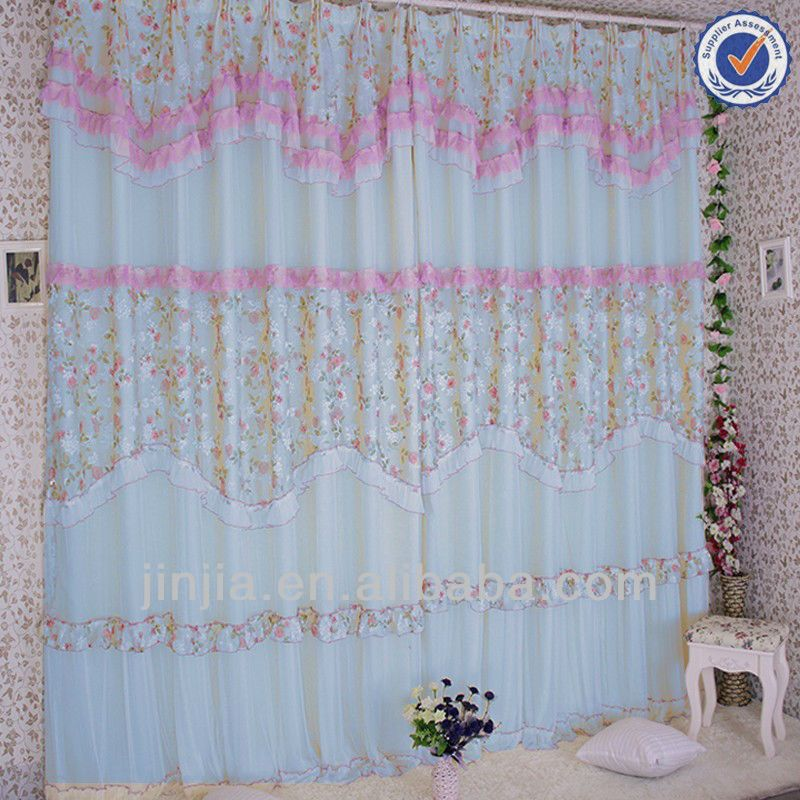 Z Indian Model Printed Organza Curtain Fabric Latest Designs Of ...