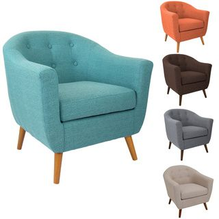 Rockwell Accent Chair | Overstock.com Shopping   The Best Deals On Living  Room Chairs