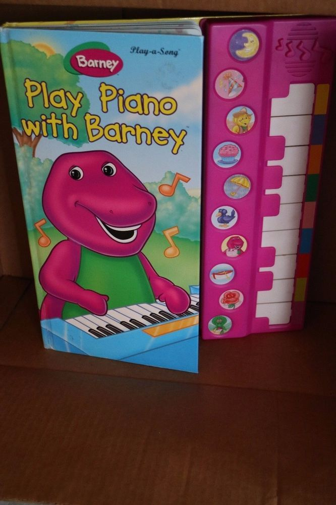 Play Good With Barney W New Batteries Used Good Own Story Of The Firstsanta S Song Play Selling On Ebay Barney