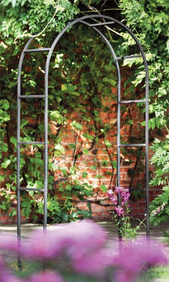 Classic Garden Arch By Tom Chambers 120cm W 40cm D 228cm H
