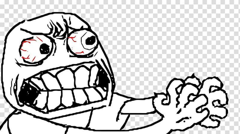 Rage Comic Trollface Anger Internet Meme Meme Transparent Background Png Clipart Memy Lica Memy Lico