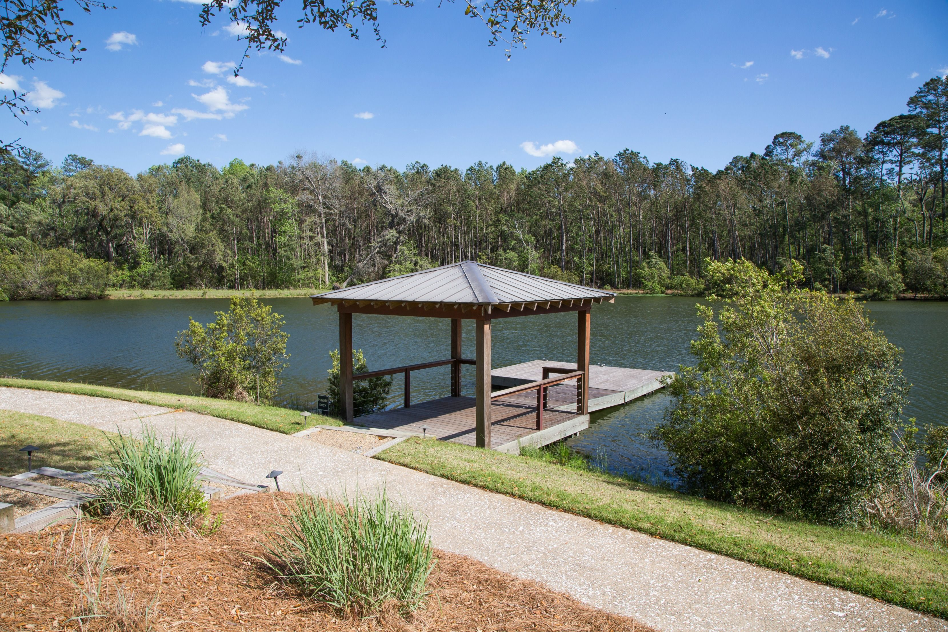 Private Boat Dock | Waterfront Backyard | Vacation Real Estate Bluffton, South Carolina