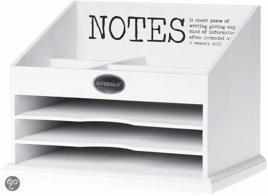 Riverdale Opbergbox - Mailbox Notes - Wit deze vind ik echt geweldig!