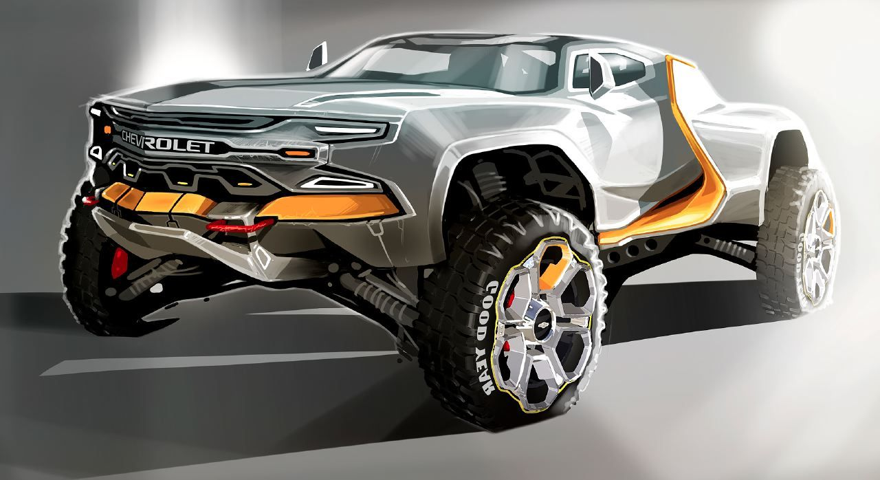 All Chevy chevy concepts : Darby Barber's Chevrolet truck concept   Wheels   Pinterest ...