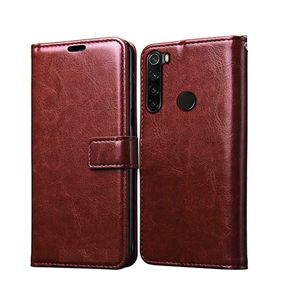 Glistening Deluxe Leather surface provides your phone with a rich sophisticated look.  #case #cover #mobilecover #redminote8 #redmiindia #miindia