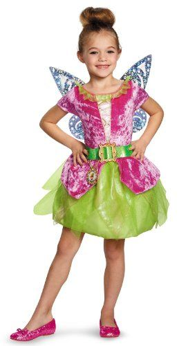 Disguise Disney's The Pirate Fairy Pirate Tinkerbell Classic Girls Costume, Small/4-6x *** Continue @…