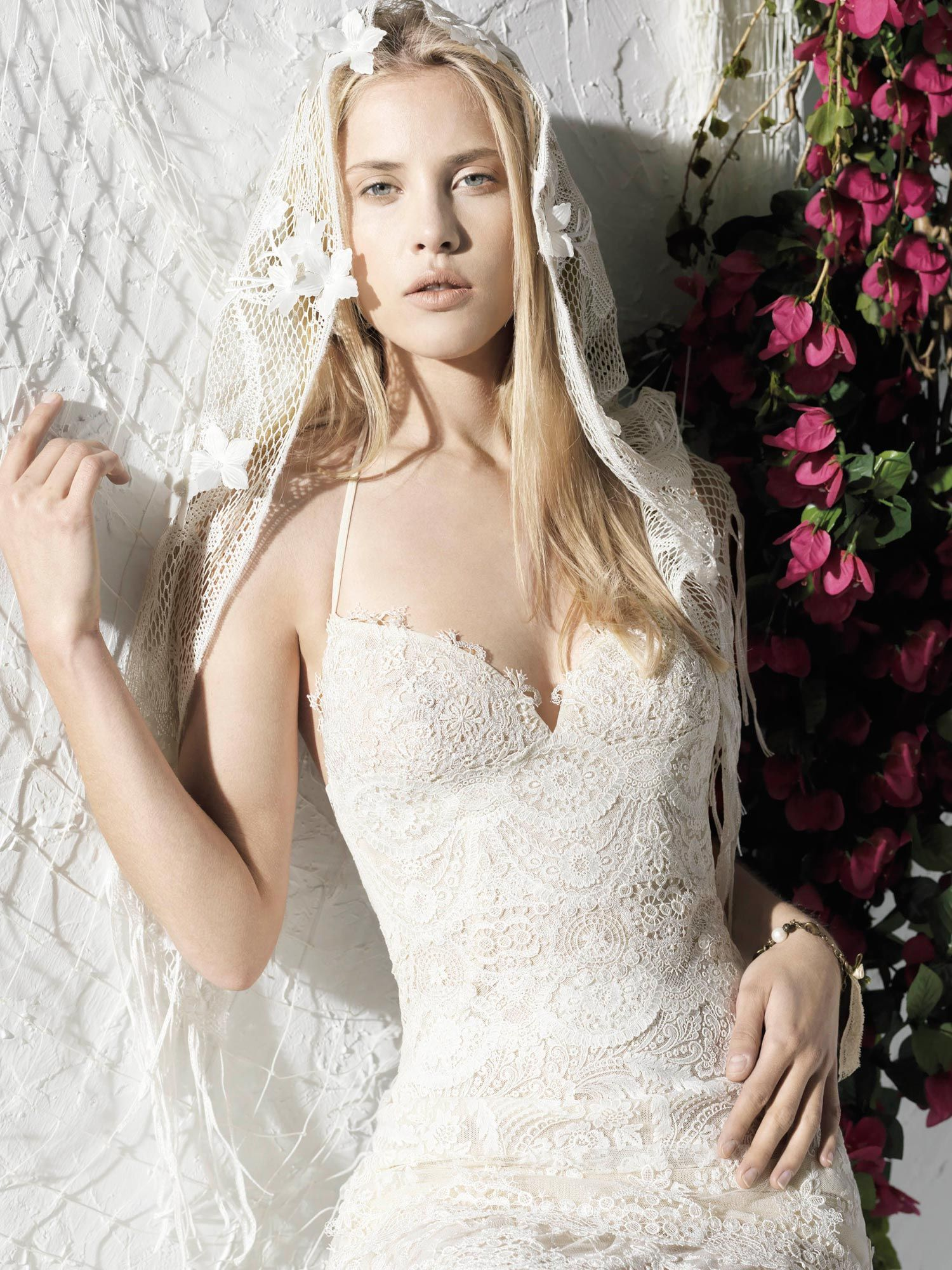 Yolancris ibiza bridal veils u headpieces inspiration pinterest