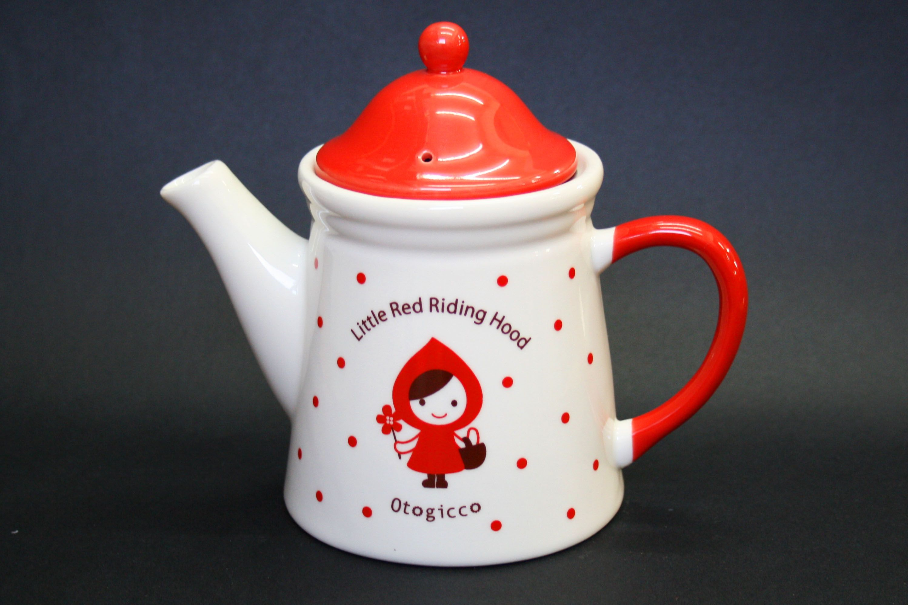 #25 - Ottogicco Little Red Riding Hood. This one has an infuser, so it's functional as well as cute.