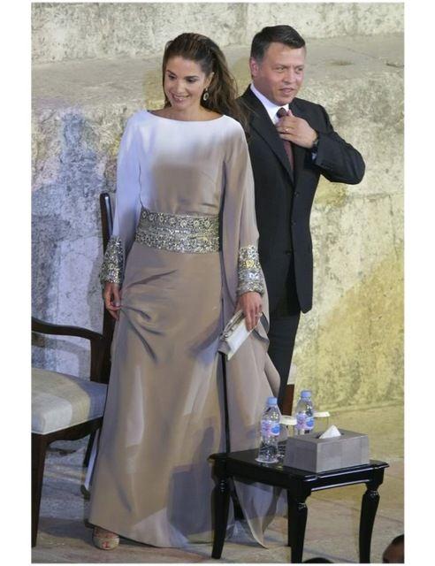 Elegante Langarm Kaftan Kleid Frau Abendkleider abaya in dubai ...