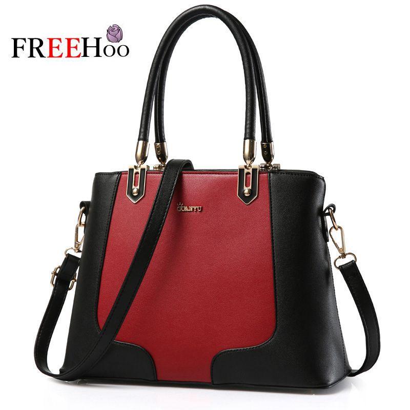 2017 new brand fashion patchwork trend mosaic bolsos shoulder Crossbody handbag women messenger bags