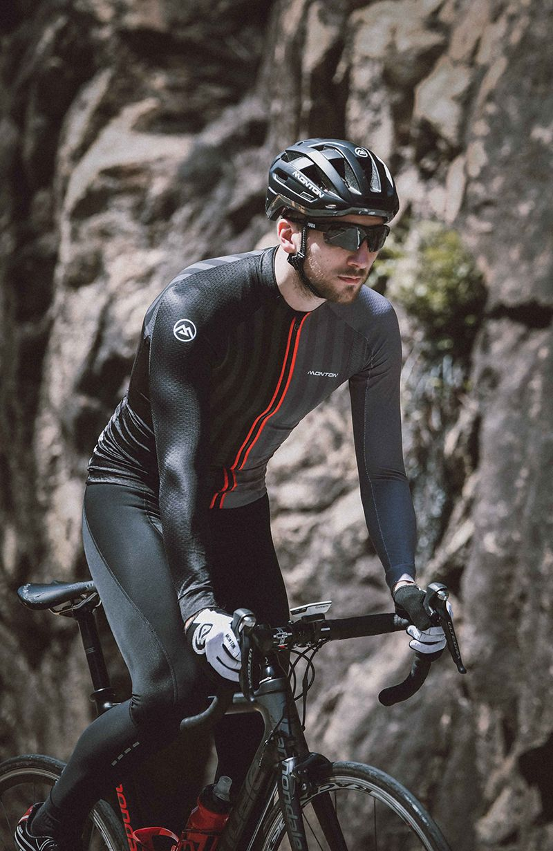 Long Sleeve Bike Jersey With Images Cycling Outfit Bike