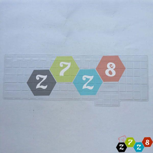 Keyboard Skin For Samsung R517 R523 R528  R530 P580 R540 R538 US Layout
