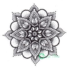 ombre dotwork tattoo - Google Search | tattoo | Pinterest | Ombre ...