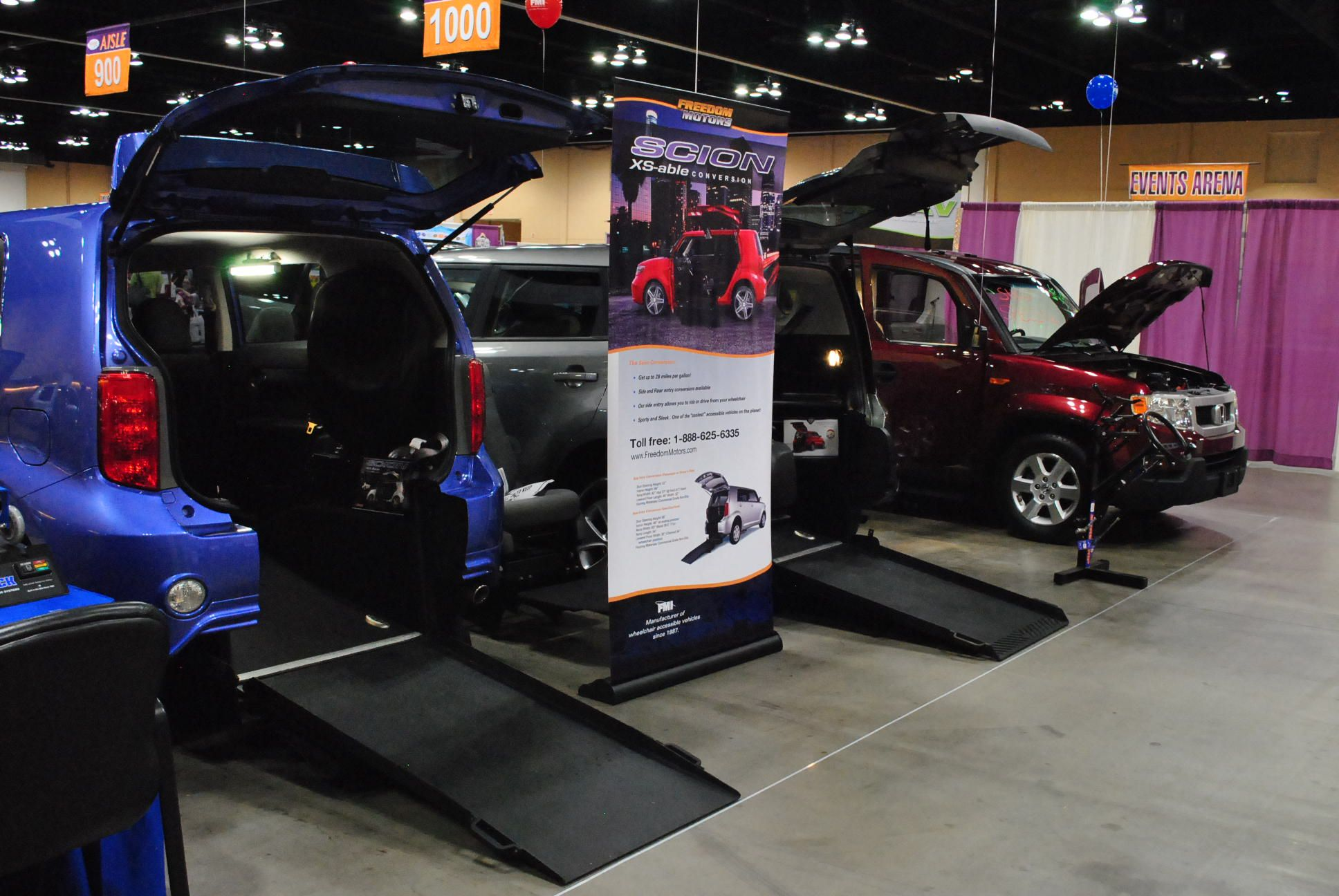 c16a8c5191 Freedom Motors USA amazing line of accessible vehicles on display at  Abilities Expo Chicago.     See it. Believe it. Do it. Watch thousands of  spinal cord ...