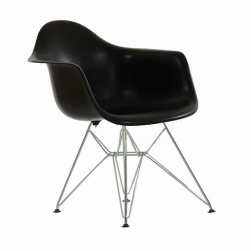 Charles Eames Inspired Eiffel DAR Black Dining Chair | H O M E ...