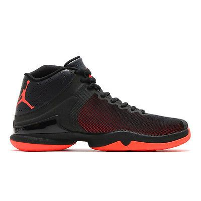 super popular 476e6 a07a1 Nike Jordan Super.Fly 4 PO Mens 819163-012 Black Red Basketball Shoes Size 8