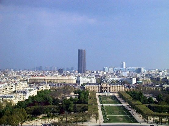 Montparnasse seen from Eiffel Tower.