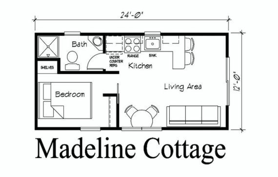 12 X 24 Cabin Floor Plan With Loft Pin By Kelli Smith On Cabin Coolness Pinterest Guest House Plans Cabin Floor Plans Tiny House Plans