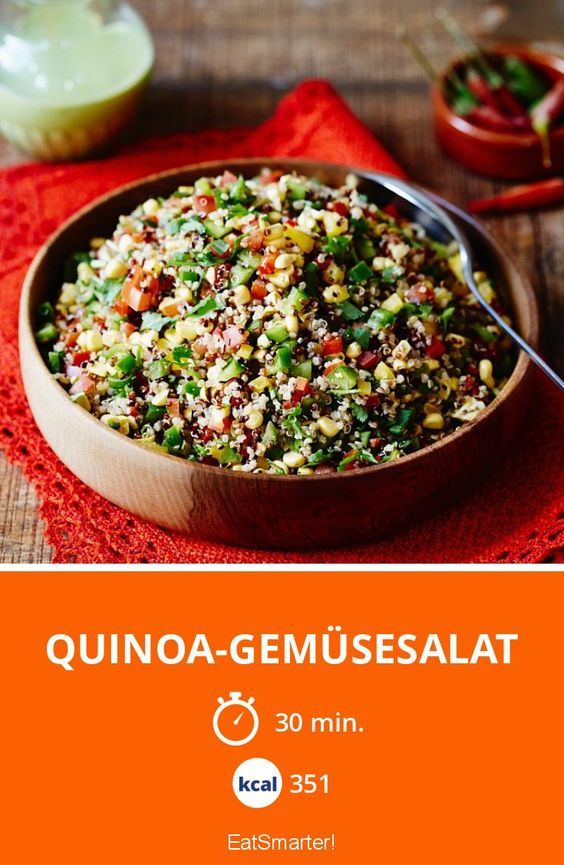 Photo of Quinoa-Gemüsesalat