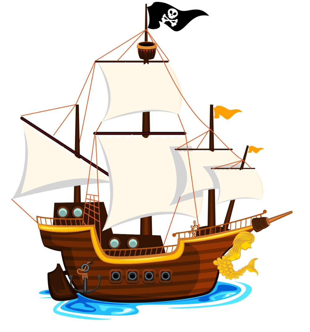 Download 2100k Free Clipart On Webstockreview Pirate Ship Drawing Cartoon Pirate Ship Boat Drawing