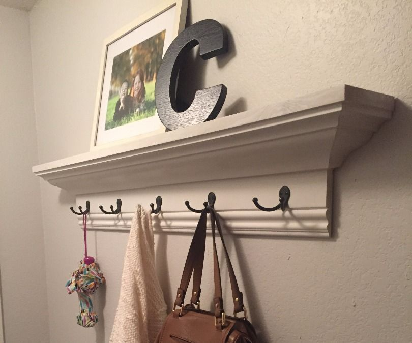 Easy Inexpensive Crown Molding Wall Shelf Home Remodeling Diy Home Decor Tips Room Furniture Design